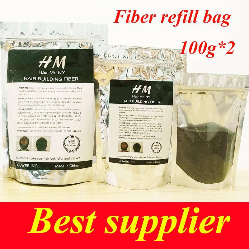 Wholesale Natural Keratin Hair Care Loss Treatment Hair Building Fiber Powder