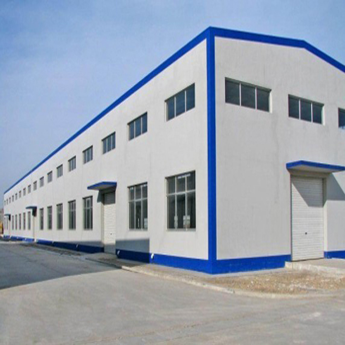 Qingdao easy installation hot galvanized steel structure feeding cow poultry farm house building