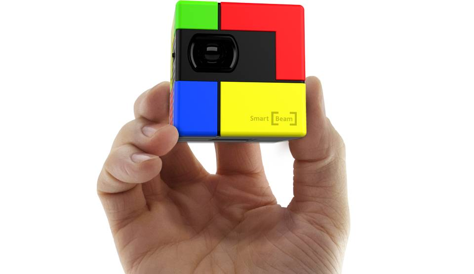 New SK SMART BEAM ART PICO 40 ANSI TI DLP Portable Projector for PC/Smartphones