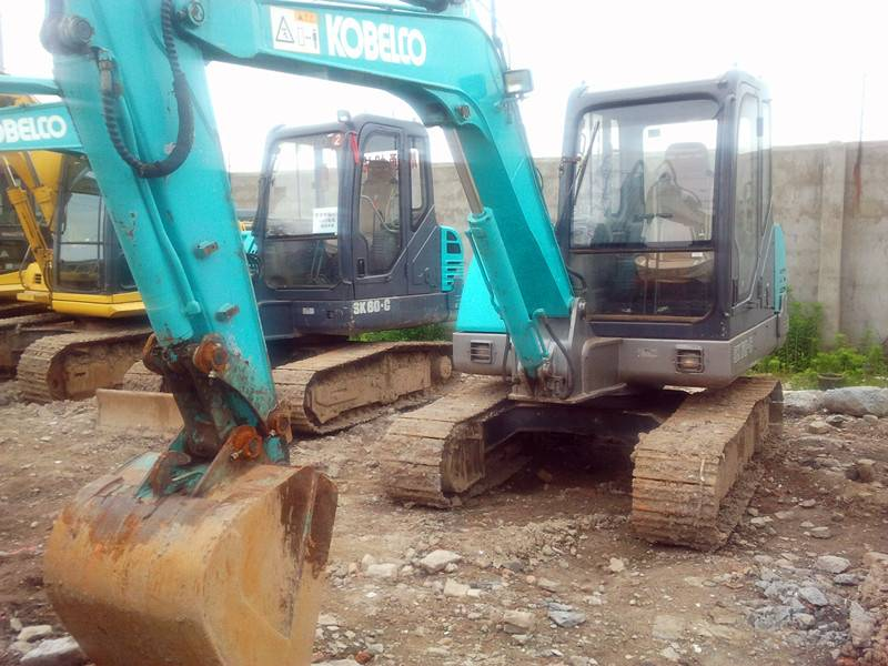China Supplier of Used Excavator Kobelco Sk60