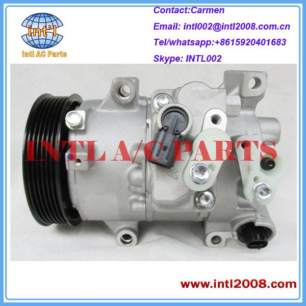AUTO AIR CONDITIONER COMPRESSOR PK6 TSE14C for Toyota Matrix 1.8L 2011-2013 CG447280-9060 88310-0271