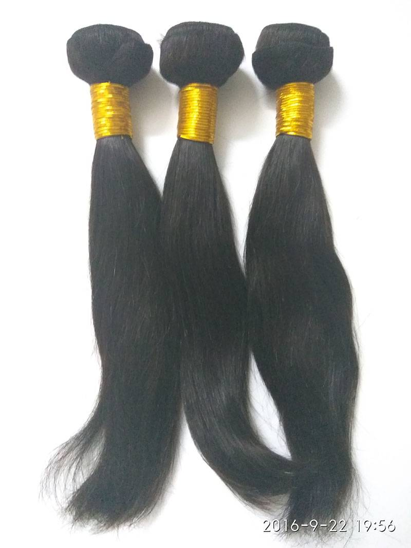 straight remy unprocessed virgin human hair weft