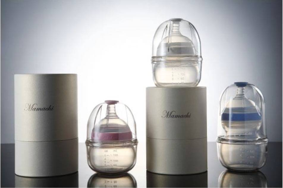 Mamachi Baby silicon feeding bottle