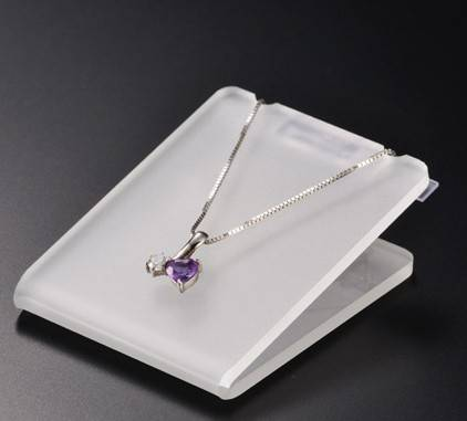 Guangzhou Professional Acrylic Necklace Display with Customed