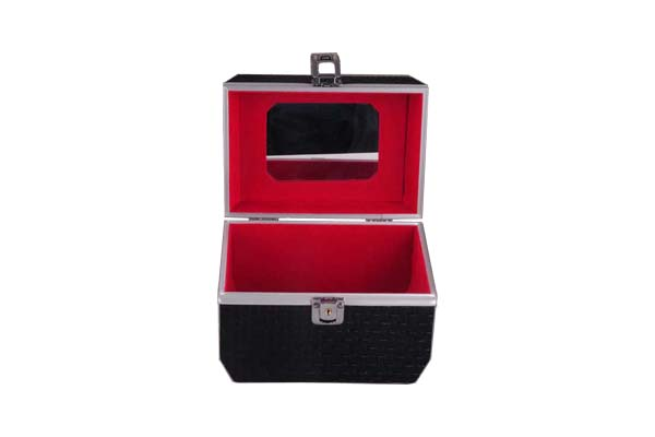 Cosmetic Storage Case with Mirror