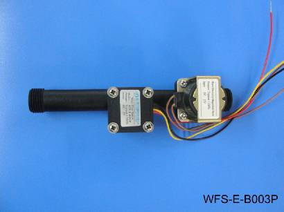 Germany four points high temperature plastic integrated valve WFS-E-B003P