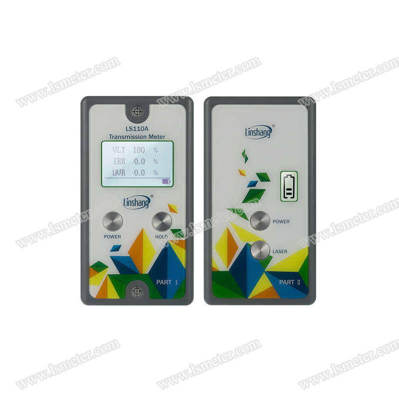 LS110A split transmission meter, Window Energy Profiler, Transmission Meter, window tint meter
