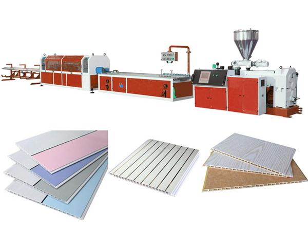 PVC ceiling panel profile production line