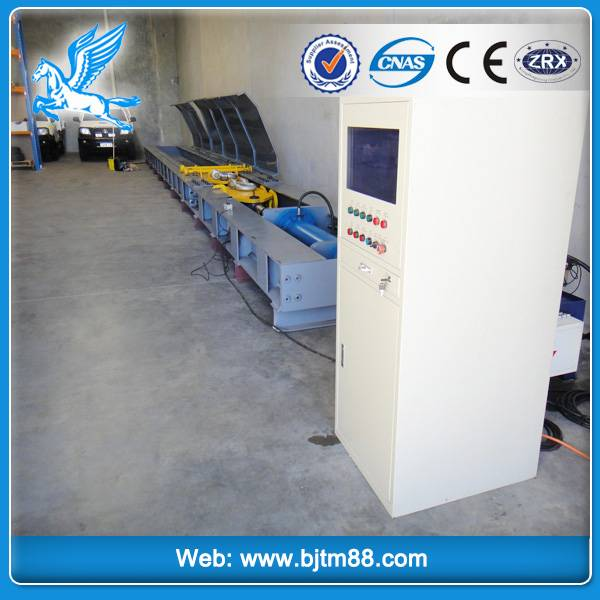 computer control horizontal wire rope sling testing equipment