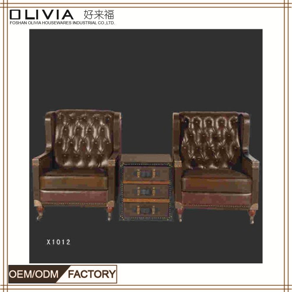 Italy new modern genuine sectional leather sofa furniture