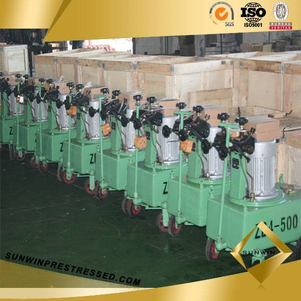 High Pressure Electric Oil Pump for Post Tensioning
