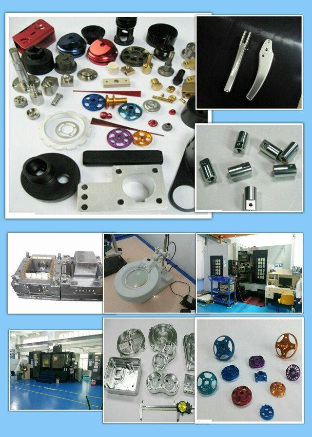 High Quality Custom Made Metal Aluminum Precision CNC Machining Parts