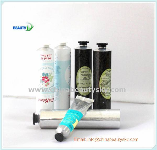 Cosmetics packaging aluminum tube for hand cream