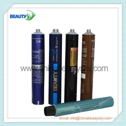 Soft Aluminum Tubes for Hair Color Cream