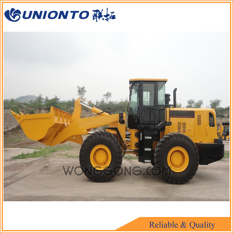Shandong UNIONTO-855A wheel loader with low price