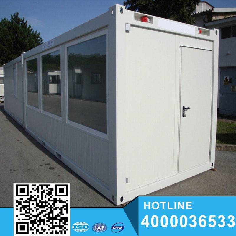 Modern flat roof 20foot Container Shop y easy assemble