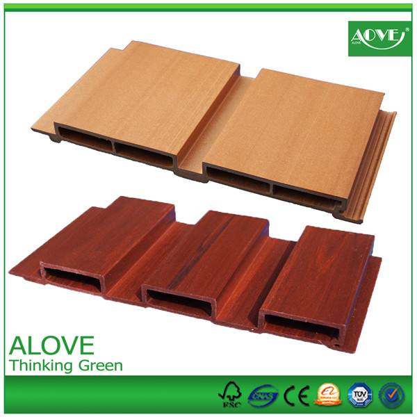 pvc wpc wall panels for ourdoor exterior