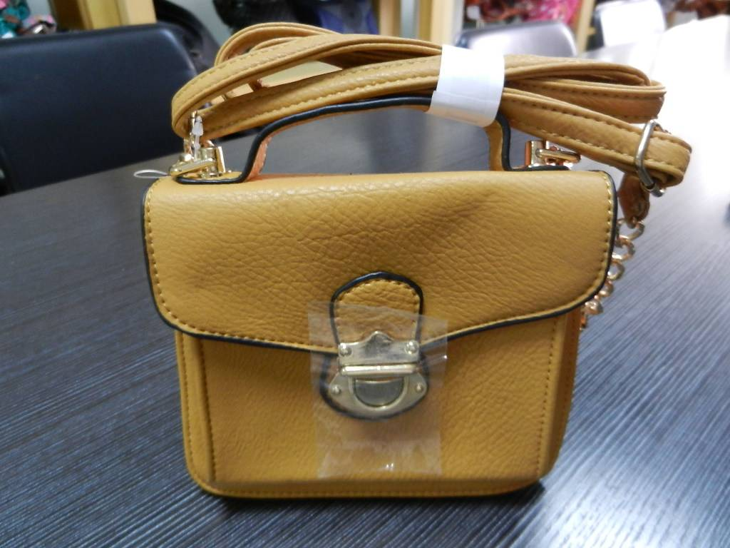 Have stock metal lock and a front pocket handbags