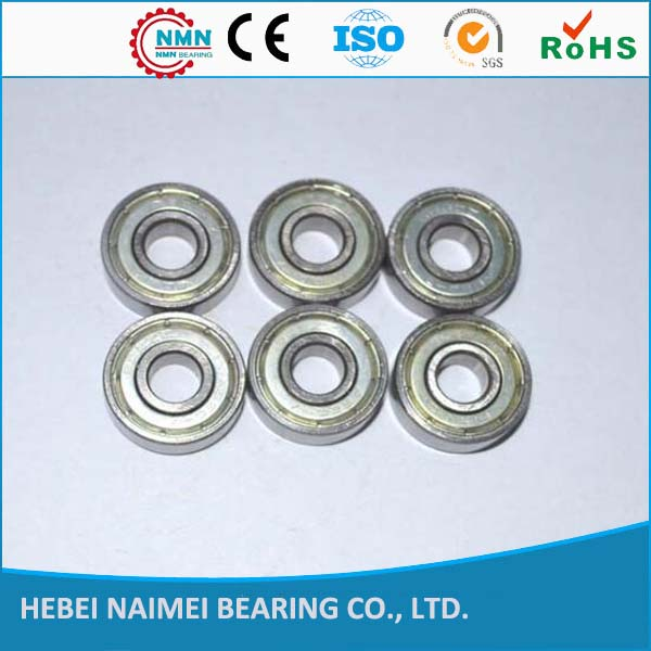 Single-row ball bearings sealed and shielded 608 series bearing