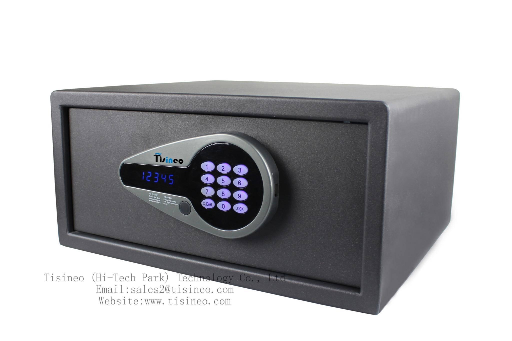 Hotel electronic digital safe Tisineo SSOL