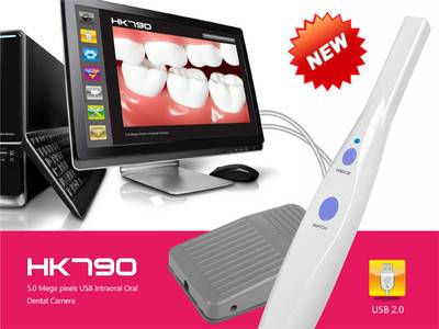 New 5.0 MP USB Digital intra oral dental camera Teeth Diagnosis Device+Pedal 790