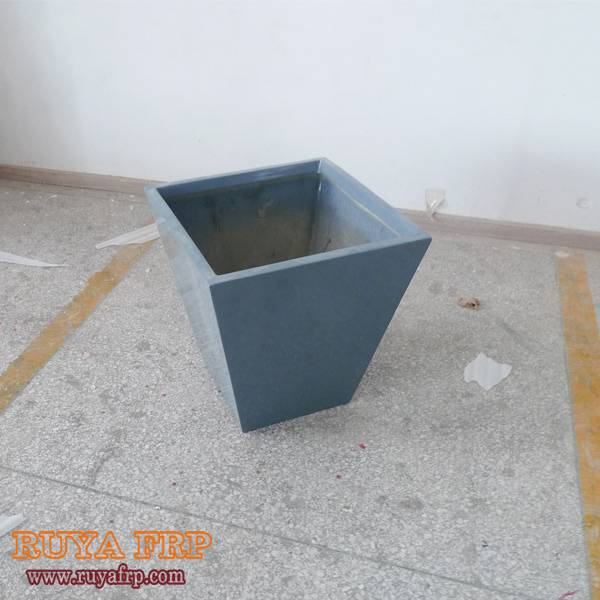 Triangle plant box outdoor green decoration flowerpot