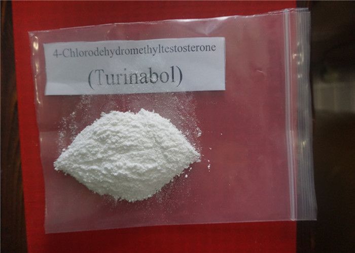 Raw Steroid Powder Oral Turinabol / 4-Chlorodehydromethyltestosterone CAS 2446-23-3 For Muscle Gain