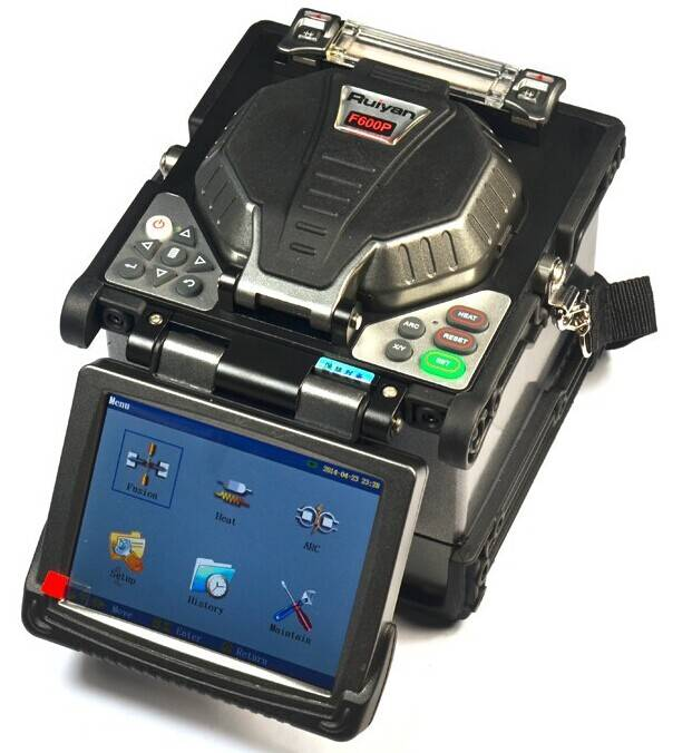 General Removable Fiber Fusion Splicer RY-F600 Pro Auto Precise and Fast Fusing Including Fiber Hold