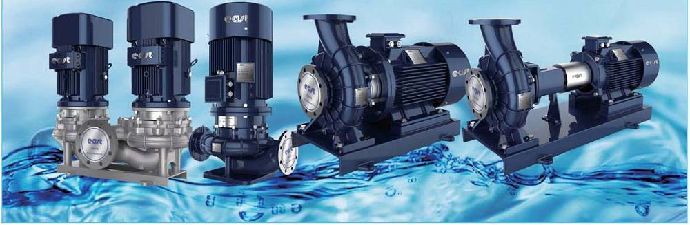 High effiency centrifugal single stage pump