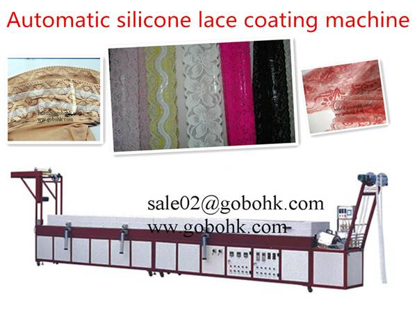 silicone lace coating machine