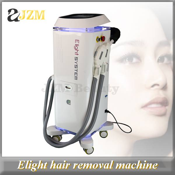 E80 2016 Hottest double handle E-light IPL RF hair removal skin rejuvenation skin whitening machine