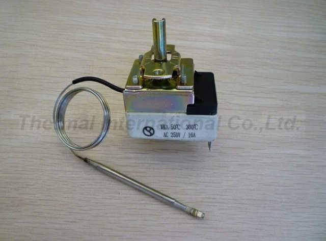 Oven/Grill/Refrigerator Capillary Thermostat