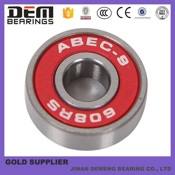 Abec 7 skate bearing/ skateboard bearing lowes / 600 irs skateboard bearing