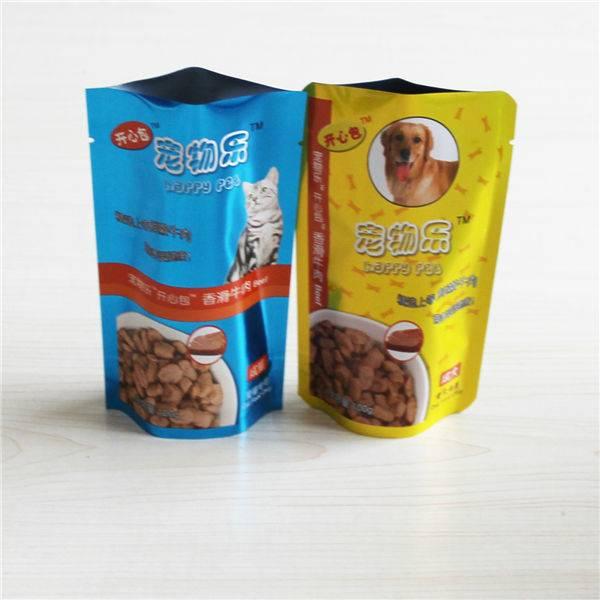 Best quality!100g standing pet food bag retort pouch