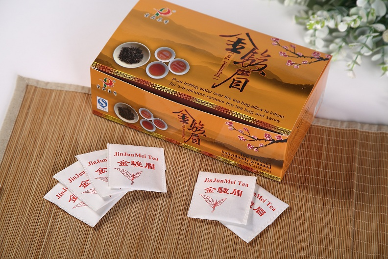 JinJunMei Black tea bag(100 Tea bags/box)