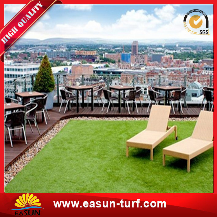 Wholesale cheap outdoor artificial grass lawn carpet for decoration-Donut