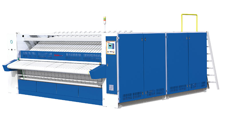 High speed roller ironer with 4 rollers and 800mm diameter