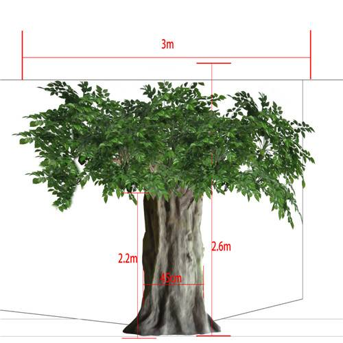 hot sale artificial Radermachera tree(for indoor&outdoor decoration)