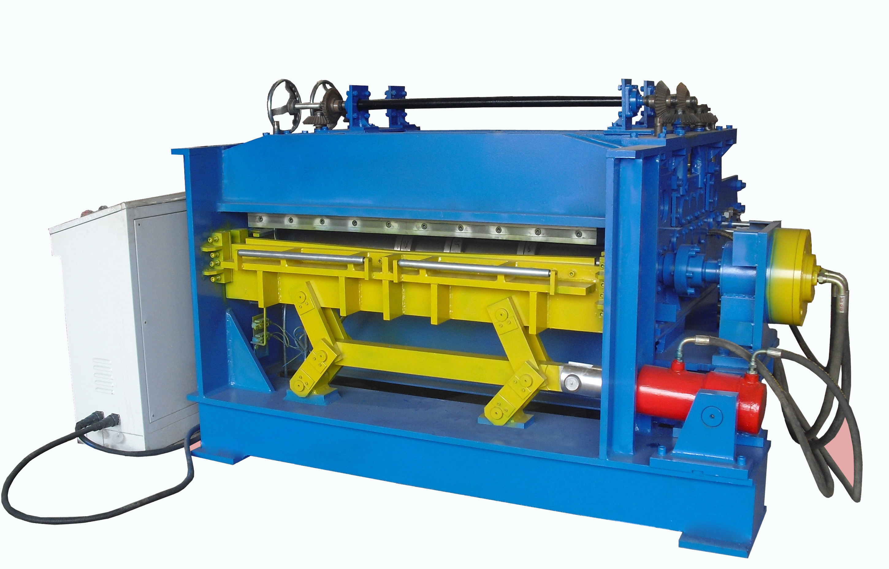 Steel Plate Straightening Machines with Slitting and Cutting Device Fcs2.0-1300