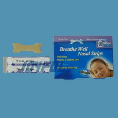 High quality Nasal Strips, PE or Nonwoven, Breathe and Sleep Better