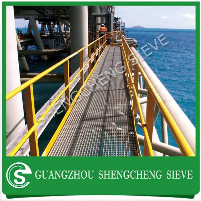 Anti-skid acid proof steel drain grate grille galvanized industrial floor grating