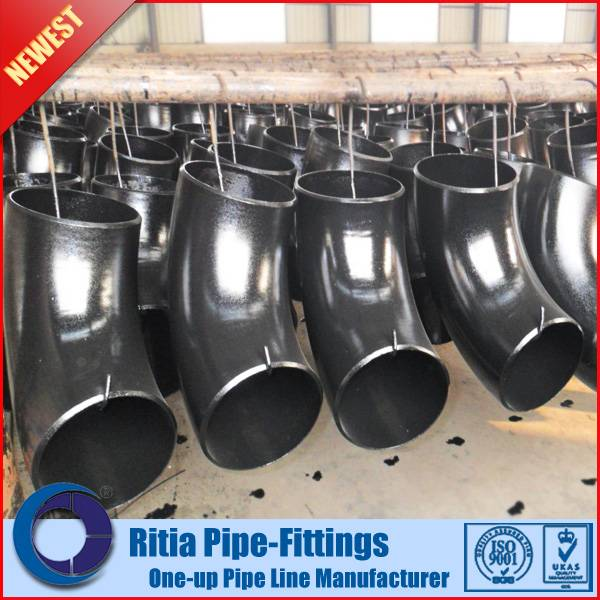 pipeandfittings.cn - Carbon steel ASTM A234 WPB long radius butt weld elbow 90 degree