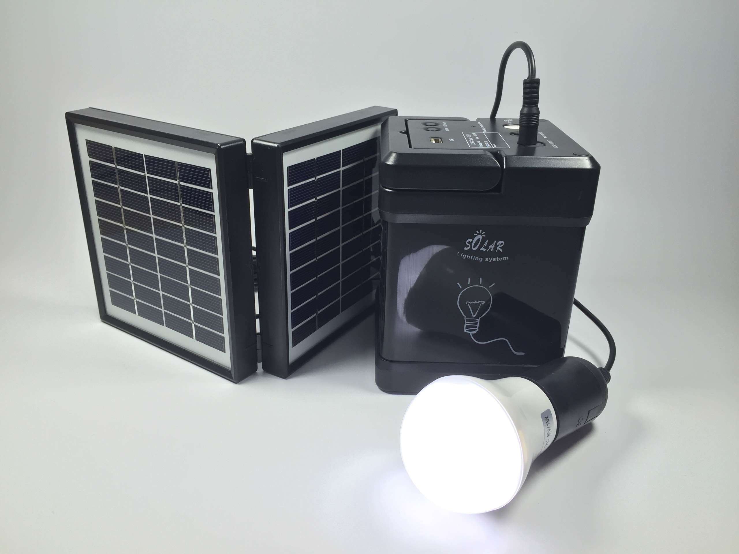 rechargeable led camping solar lantern