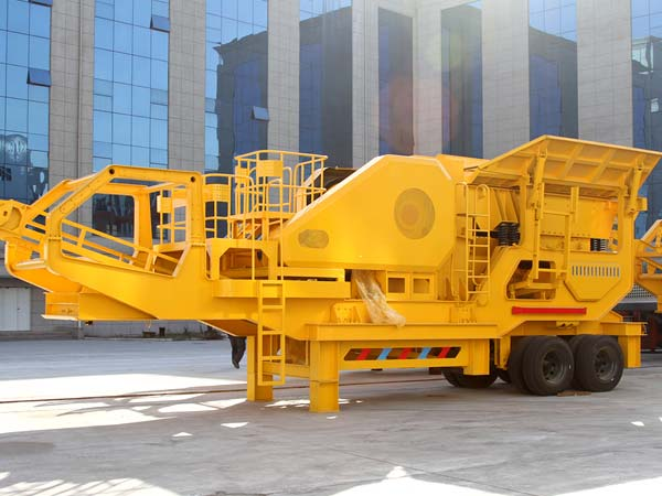 Large Capacity Stone Mobile Jaw Crusher for Sale