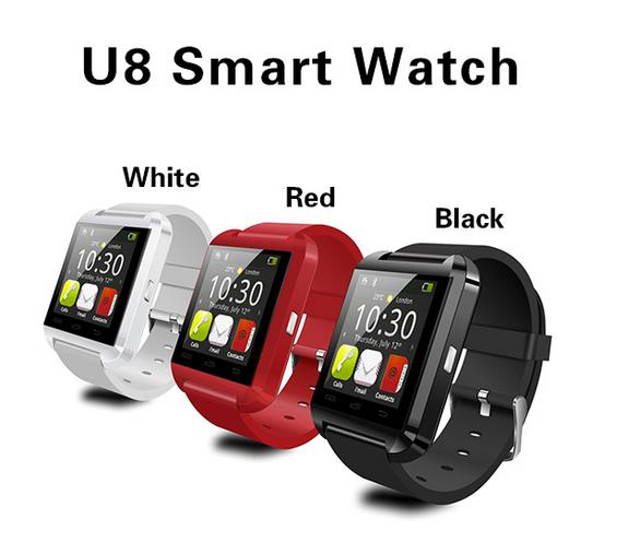 Cheapest watch phone u8 smart watch with bluetooth