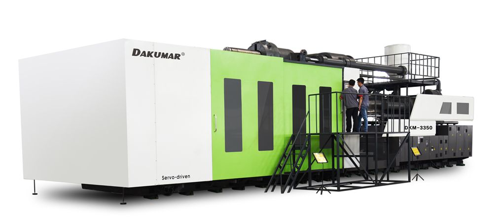 Two Plate Injection Molding Machine with Servo System 3350ton