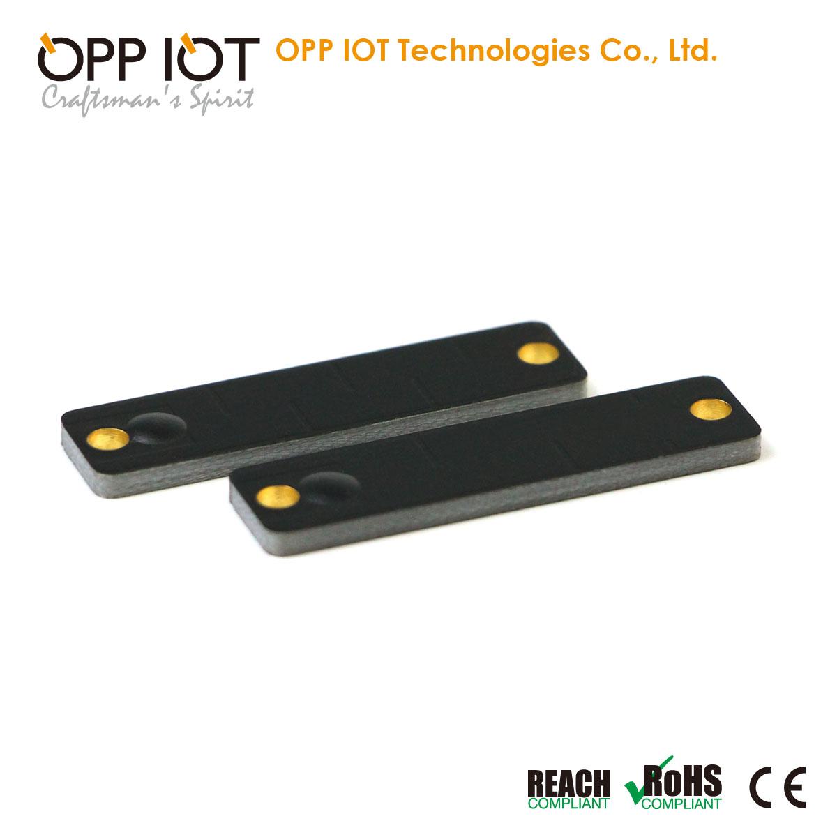 Impinnj Monza4qt Gas Equipment Tracking UHF Metal Tag