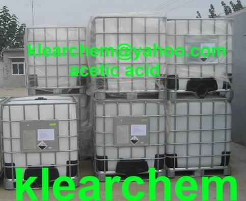 Glacial Acetic Acid 99.5% & 99%min (Tech Grade) (Skype: klearchem, klearchem@yahoo.com)