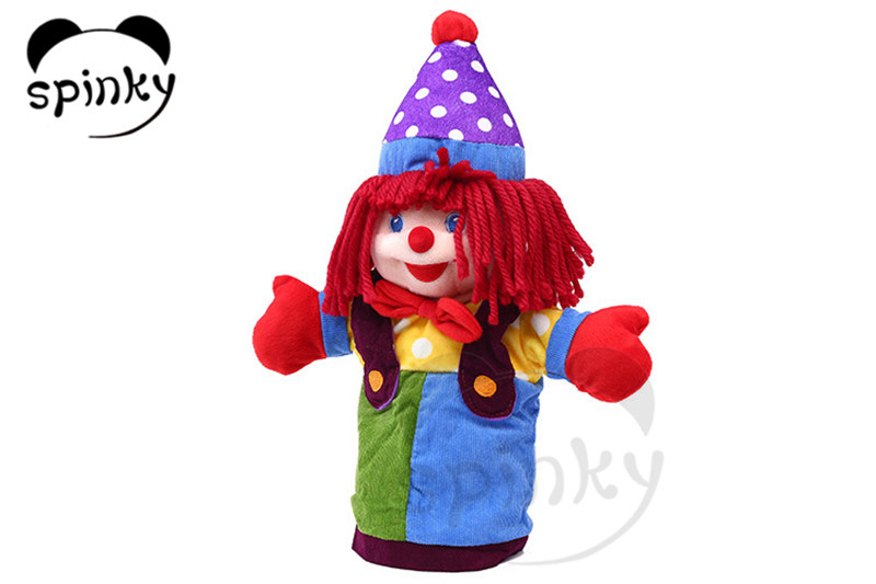 Educational toys plush hand puppets