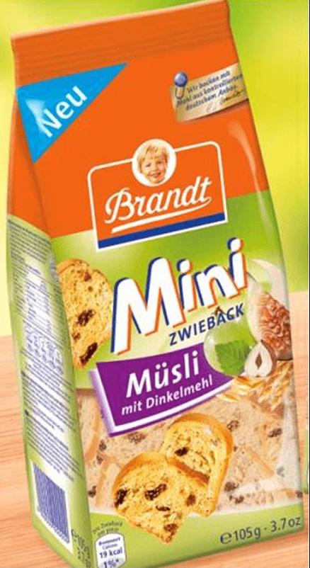 Cereals- Brandt, Delicious rusk 225g., Wholemeal Rusk 225g., Coconut Rusk 225g., Micro Minis Milk-Co